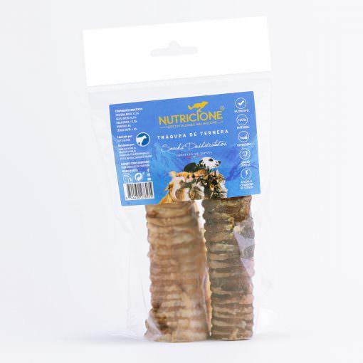 Tráquea de ternera deshidratada 2ud, snack natural.