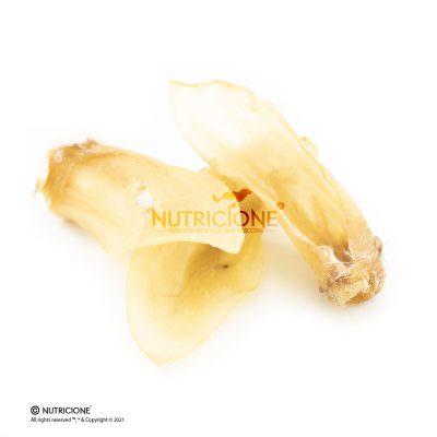 Oreja de cordero deshidratado 3ud, snack natural.