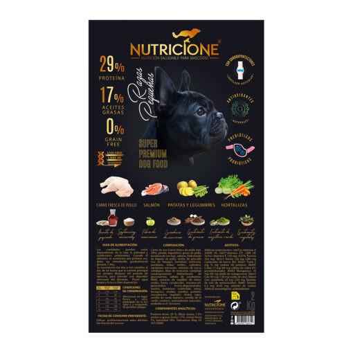 etiqueta-2kg-RAZAS-PEQUEÑAS-Pienso-carne-fresca-pollo-para-perro-superpremium